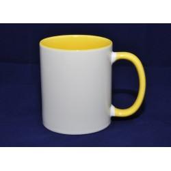 Mug intérieur jaune
