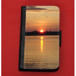 Coque portefeuille noir pour IPhone 5 / 5S