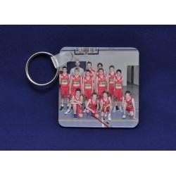 Porte clés personnalisable carré