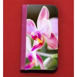 Coque portefeuille Fuchsia pour IPhone 4 / 4S