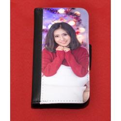Coque portefeuille noir pour IPhone 4 / 4S