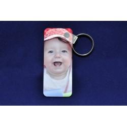 Porte clés personnalisable rectangulaire