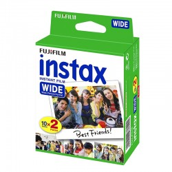 FILMS INSTAX WIDE DUO 2x10 PHOTOS
