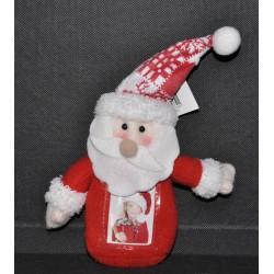 Père Noël rouge et blanc pour photo identité