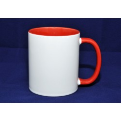Mug intérieur rouge