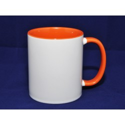 Mug intérieur orange