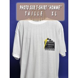 Photo sur T-Shirt Homme XL
