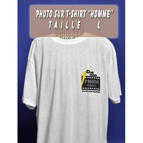 Photo sur T-Shirt Homme L