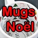 Les mugs Noël